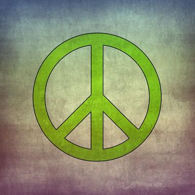 Inspiratie Jaren 60 Feest - Peace Sign