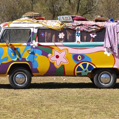 Jaren 60 Feest - Volkswagenbus